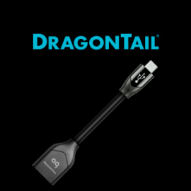 AudioQuest - DRAGONTAIL USB ADAPTOR FOR ANDROID MICRO USB (M) TO USB A (F)
